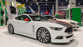 Ford Mustang em SEMA Imagens de Stock