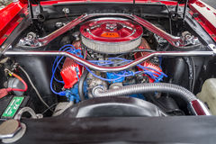 Ford Mustang engine Stock Images