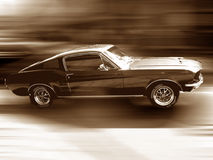 Ford Mustang Fastback 1967 Royalty Free Stock Photography