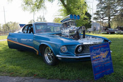Ford Mustang Fastback Royalty-vrije Stock Afbeelding