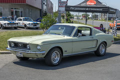 1968年Ford Mustang fastback 免版税库存图片