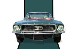 1965年Ford Mustang Fastback 图库摄影