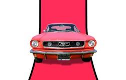 1966年Ford Mustang Fastback 库存图片