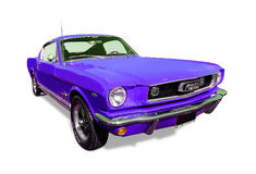 1966 Ford Mustang Fastback Royalty-vrije Stock Foto's