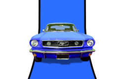 1966 Ford Mustang Fastback Stock Afbeelding