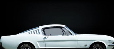 1965 Ford Mustang Fastback Royalty Free Stock Photos