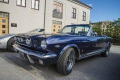 1966年Ford Mustang GT敞篷车 库存照片