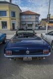 1966年Ford Mustang GT敞篷车 免版税库存照片