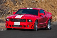 Ford-Mustang GT Lizenzfreies Stockbild