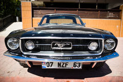 1967 Ford Mustang GT Royalty-vrije Stock Foto's