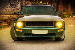 Ford Mustang GT Bullit royalty free stock photos