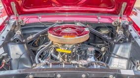 Ford Mustang GT 289 CID引擎,伍德沃德梦想巡航 免版税库存照片