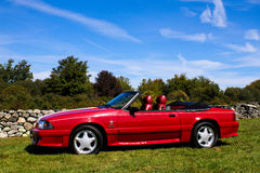 1989 Ford Mustang GT Convertible royalty free stock images