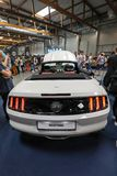 Ford Mustang GT displayed at 3rd edition of MOTO SHOW in Cracow Poland. Exhibitors present  most interesting aspects of the automotive industry Royalty Free Stock Photography