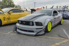 Ford mustang GT modyfikujący Obrazy Stock