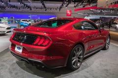 Ford Mustang GT op vertoning tijdens La Auto toont Royalty-vrije Stock Foto's