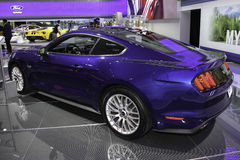 A Ford Mustang GT premium coupe Royalty Free Stock Images