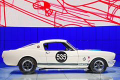 Ford Mustang GT 350 2015 salones del automóvil de Detroit Fotografía de archivo