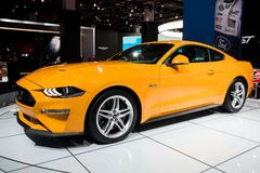 Ford Mustang GT sports car Royalty Free Stock Photos