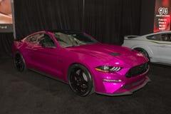 Ford Mustang GT su misura su esposizione durante l'esposizione automatica della LA Immagine Stock
