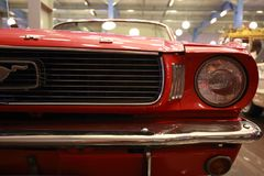1964 Ford Mustang Half Front Stock Afbeelding