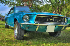 Ford Mustang HDR Stock Photos