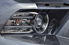 Ford Mustang Headlight Assembly Photographie stock libre de droits