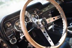 1967年Ford Mustang Inteior GT 免版税库存照片