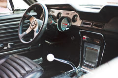 Ford Mustang Interior Immagini Stock Libere da Diritti