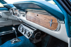 Ford Mustang Interior Stock Photography