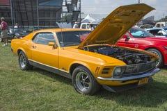 1970年Ford Mustang mach1 免版税库存照片