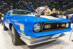 Ford Mustang Mach 1 Royalty Free Stock Images