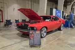 Ford Mustang Mach 1 op vertoning Royalty-vrije Stock Afbeeldingen