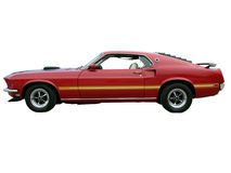 1969 Ford Mustang Mach1 Royalty Free Stock Photo
