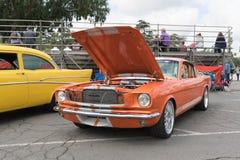 Ford mustang na pokazie Obraz Stock