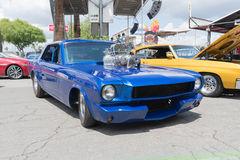 Ford mustang na pokazie Obrazy Royalty Free
