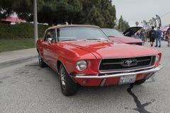 Ford mustang na pokazie Zdjęcia Stock