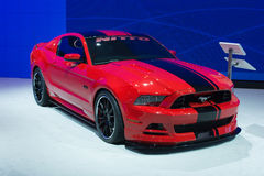 Ford Mustang Nitto 420HP 5L V8  car on display at the LA Auto Sh Royalty Free Stock Photos