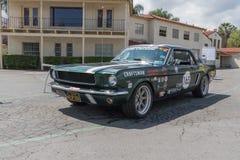 Ford Mustang op vertoning Stock Foto