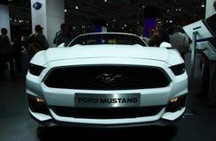Ford Mustang på IAA-bilarna Royaltyfria Bilder