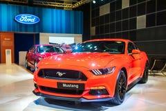 Ford mustang przy Singapur Motorshow 2015 Obraz Stock