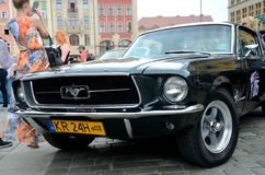 Ford Mustang Race Stock Afbeelding