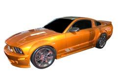 Ford Mustang saleen版本 库存照片