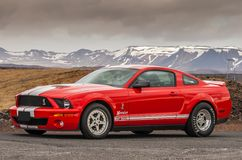 2007 Ford Mustang Shelby GT 500 Stock Afbeelding