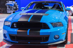Ford Mustang Shelby GT500 Coupe car on display at the LA Auto Sh Stock Images
