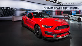 2016 Ford mustang Shelby GT350R Fotografia Stock