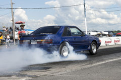 Ford mustang smoke show Stock Photo