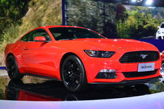 Ford MUSTANG sports car Stock Images