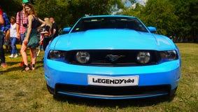 Ford Mustang, Sportwagens Royalty-vrije Stock Fotografie