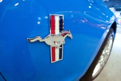 Ford Mustang/STRMBD Royalty Free Stock Image